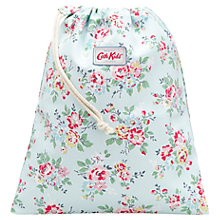 Buy Cath Kidston Kingswood Rose Drawstring Wash Bag Online at johnlewis.com