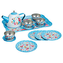 Buy Cath Kidston Garden Ditsy Tin Tea Set Online at johnlewis.com