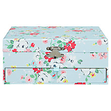 Buy Cath Kidston Clifton Rose Keepsake Box Online at johnlewis.com