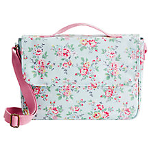Buy Cath Kidston Kingswood Rose Satchel, Blue Online at johnlewis.com