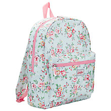 Buy Cath Kidston Kingswood Rose Padded Rucksack, Ivy Online at johnlewis.com