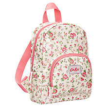 Buy Cath Kidston Bramley Spring Mini Backpack, Cream Online at johnlewis.com