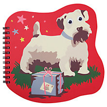 Buy Cath Kidston Billie Christmas Shaped Notebook Online at johnlewis.com