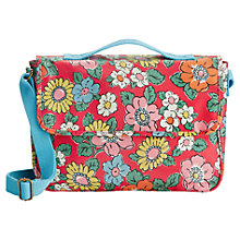 Buy Cath Kidston Camden Satchel, Red Online at johnlewis.com