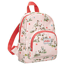 Buy Cath Kidston Starry Dog Mini Backpack, Pink Online at johnlewis.com