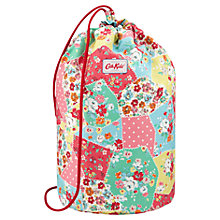 Buy Cath Kidston Barrel Patchwork Drawstring Bag Online at johnlewis.com