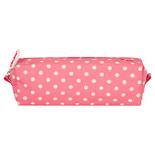 Buy Cath Kidston Little Spot Pencil Case, Pink Online at johnlewis.com