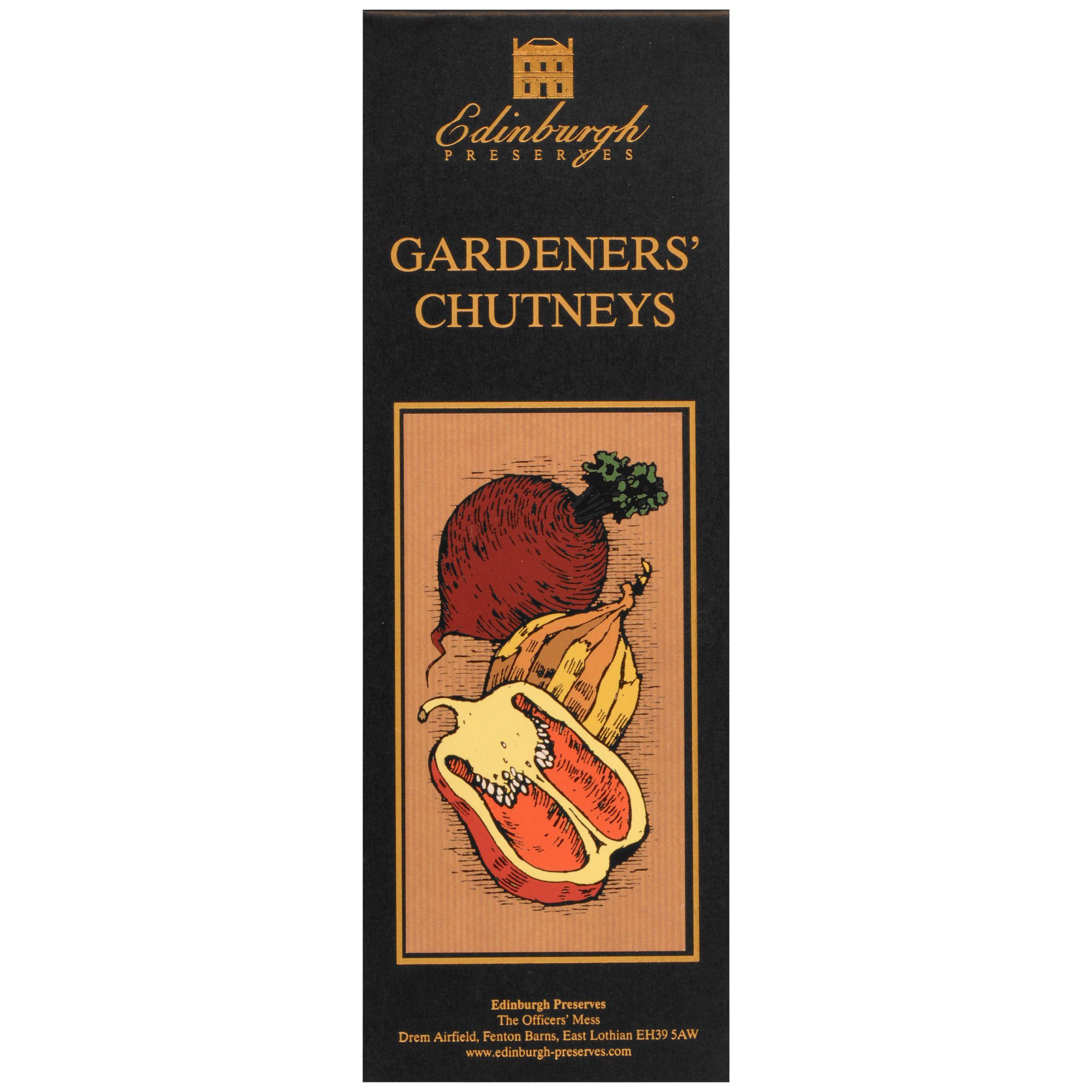Edinburgh Preserves Edinburgh Preserves Gardeners' Chutneys Set, 600g