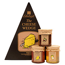 Buy Edinburgh Preserves The Cheese Wedge Set, 622g Online at johnlewis.com