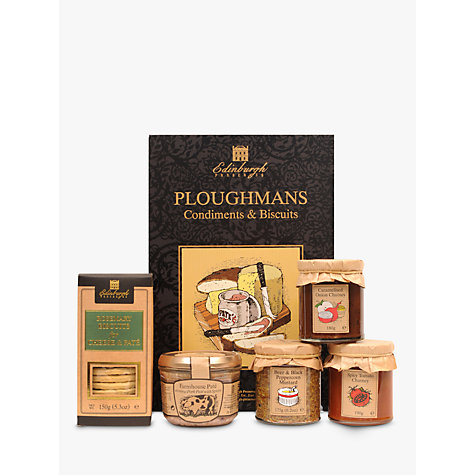 Buy Edinburgh Preserves Ploughman's Gift Set, 885g Online at johnlewis.com