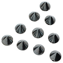 Buy John Lewis Sew On 10mm Cones, Pack of 50 Online at johnlewis.com