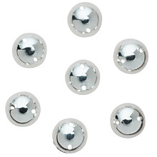Buy John Lewis Sew On 10mm Dome Studs, Pack of 50 Online at johnlewis.com