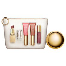Buy Clarins Lip Collection - All About Lips Online at johnlewis.com