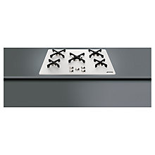 Buy Smeg P755AB1 Marc Newson Gas Hob, White Online at johnlewis.com