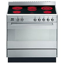 Buy Smeg SUK91CMX8 Electric Range Cooker, Stainless Steel Online at johnlewis.com