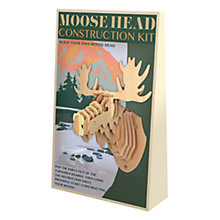 Buy Professor Puzzle Moose Head Kit Online at johnlewis.com