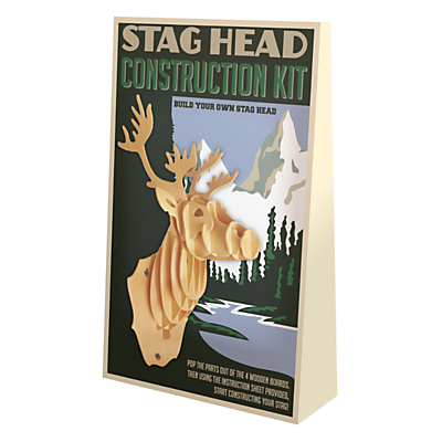 Professor Puzzle Stag Head Kit