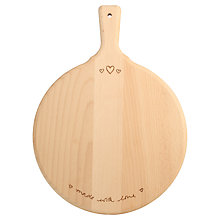 Buy Sophie Conran for T&G Made With Love Serving Board Online at johnlewis.com