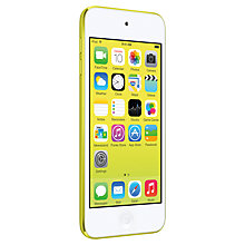 Buy Apple iPod touch 5th generation, 16GB, Yellow Online at johnlewis.com