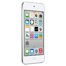 Buy Apple iPod touch 5th generation, 16GB, White & Silver Online at johnlewis.com