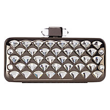 Buy Coast Planet Clutch Bag, Gun Metal Online at johnlewis.com