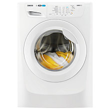 Buy Zanussi ZWF81260W Washing Machine, 8kg Load, A+++ Energy Rating, 1200rpm Spin, White Online at johnlewis.com