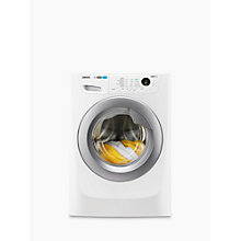 Buy Zanussi ZWF81463WR Washing Machine, 8kg Load, A+++ Energy Rating, 1400rpm Spin, White Online at johnlewis.com