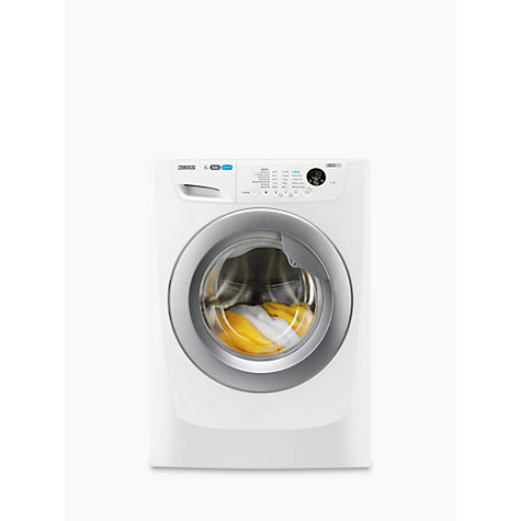 Buy Zanussi ZWF81463WR Freestanding Washing Machine, 8kg Load, A+++ Energy Rating, 1400rpm Spin, White Online at johnlewis.com