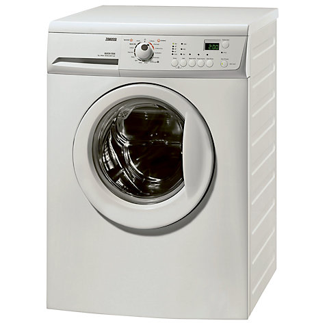 Buy Zanussi ZWH7148P Slim Depth Freestanding Washing Machine, 7kg Load, A++ Energy Rating, 1400rpm Spin, White Online at johnlewis.com
