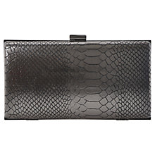 Buy Dune Barley Hard Case Clutch Bag Online at johnlewis.com