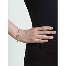 Buy John Lewis Fine Knot Gold Cuff, Gold Online at johnlewis.com
