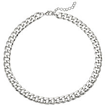 Buy John Lewis Sterling Chain Necklace Online at johnlewis.com