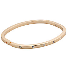Buy John Lewis Fine Hinged Diamante Bracelet Online at johnlewis.com