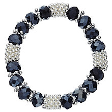 Buy John Lewis Sparkle Effect Bracelet, Navy Blue Online at johnlewis.com