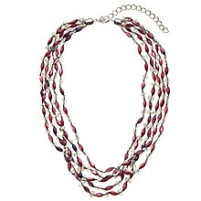 Buy John Lewis Fine Layered Semi-Precious Bead Necklace Online at johnlewis.com