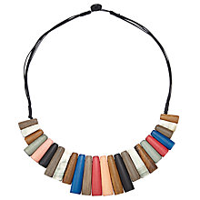 Buy John Lewis Keystone Necklace, Multi Online at johnlewis.com