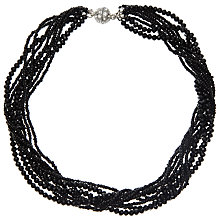 Buy John Lewis Sparkle Twisted Bead Necklace Online at johnlewis.com