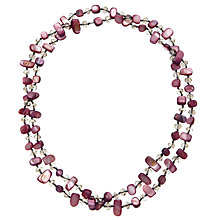 Buy John Lewis Small Mixed Semi-Precious Bead Necklace Online at johnlewis.com
