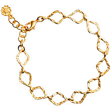 Buy Azuni Diamond Chain Bracelet, Gold Online at johnlewis.com