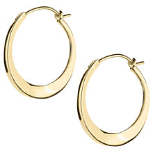 Buy Dinny Hall Small Tapering Click Hoop Earrings Online at johnlewis.com