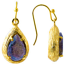 Buy Azuni Textured Teardrop Claw Earrings Online at johnlewis.com