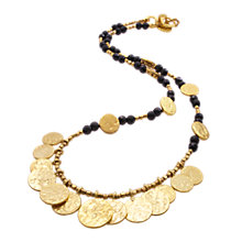 Buy Azuni Short Coin Necklace, Onyx Online at johnlewis.com