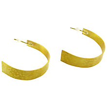 Buy Made Sii Earrings, Gold Online at johnlewis.com