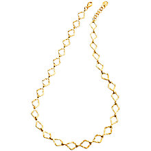 Buy Azuni Diamond Chain Necklace, Gold Online at johnlewis.com