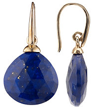 Buy John Lewis No Collet Tear Drop Earrings Online at johnlewis.com