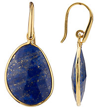 Buy John Lewis Organic Stones Tear Drop Earrings Online at johnlewis.com