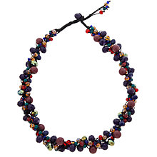 Buy One Button Winter Berry Necklace, Multi Online at johnlewis.com
