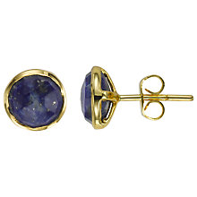 Buy John Lewis Organic Stones Round Stud Earrings Online at johnlewis.com