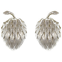 Buy Eclectica Vintage 1950s Trifari Strawberry Earrings, Silver Online at johnlewis.com