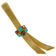 Buy Eclectica Vintage 1962 Grosse Mesh Ribbon Brooch, Gold Online at johnlewis.com